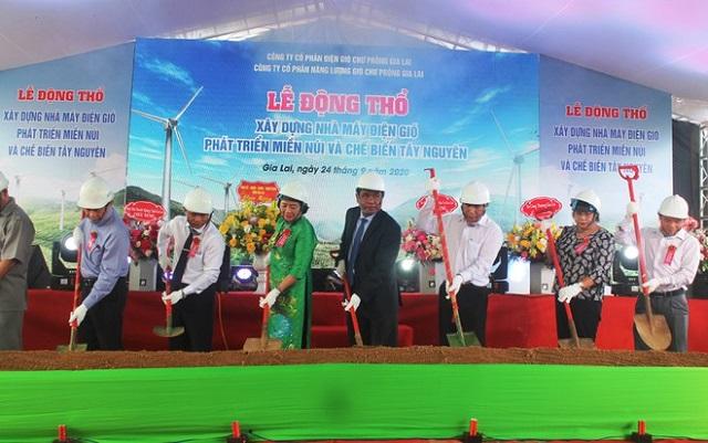 Đổ xô đầu tư điện gió ở Gia Lai