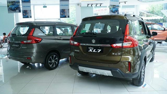 Suzuki giảm giá Ertiga, XL7 hàng chục triệu đồng 'đấu' Mitsubishi Xpander