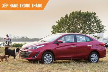Top ôtô bán chạy tháng 9: VinFast Lux SA2.0 lần đầu góp mặt