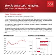 SSI Research: Báo cáo chiến lược thị trường tháng 10 - Tìm cơ hội trong biến động