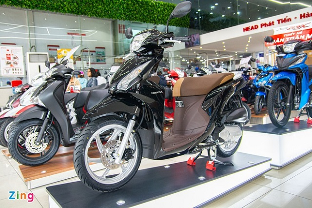 Honda Vision bị đội giá 2,3-3,6 triệu đồng tại đại lý