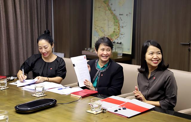 Bà Lê Thị Lệ Hằng, Tổng giám đốc Công ty TNHH Quản lý Quỹ SSI (SSIAM)