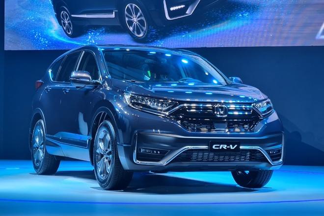 Honda CR-V giảm 50% lệ phí trước bạ còn lại
