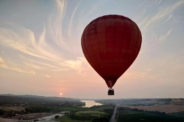 Sắp có tour khinh khí cầu ở Bà Rịa - Vũng Tàu