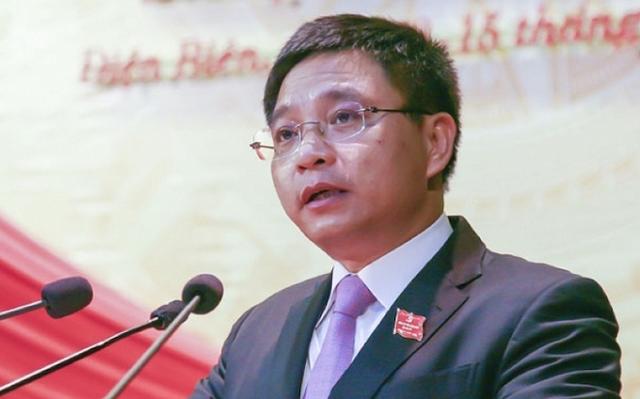 Tân Bí thư Tỉnh ủy Điện Biên Nguyễn Văn Thắng. Ảnh: VnExpress.
