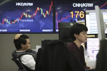 Lo ngại Covid-19 bùng phát, chứng khoán châu Á giảm