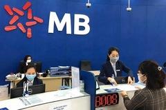 Lợi nhuận MB tăng 7%, nợ xấu tăng 39% sau 9 tháng