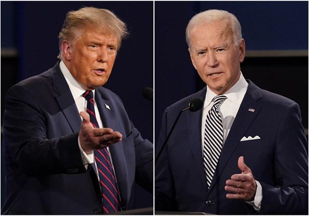 Bầu cử Mỹ 2020: Hai ứng cử viên 'so găng' trong phiên hỏi-đáp riêng
