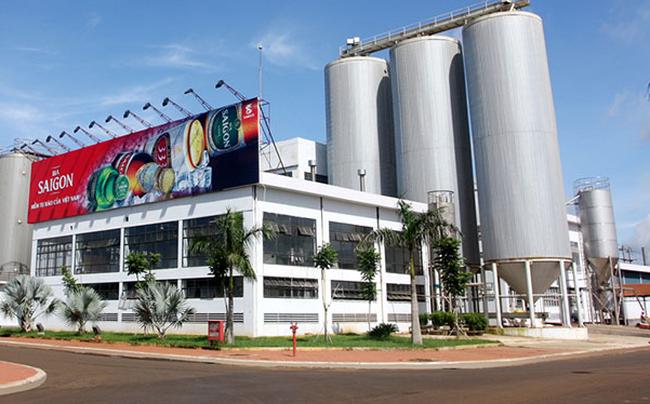 Bia Sài Gòn - Miền Trung tạm ứng cổ tức tiền mặt 25%