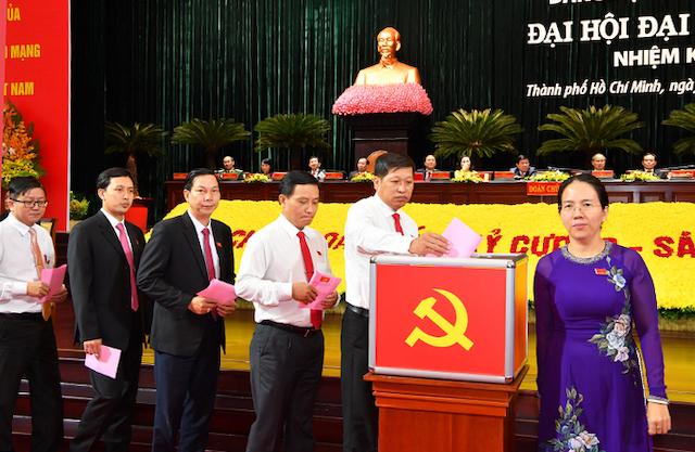 61 người trúng cử Ban chấp hành Đảng bộ TP HCM