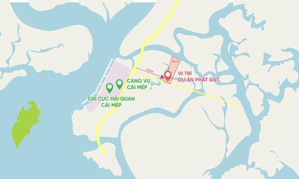 Phát Đạt mua 24 ha đất làm dự án kho bãi tổng hợp, dịch vụ hậu cần cảng và logistics gần cảng Cái Mép
