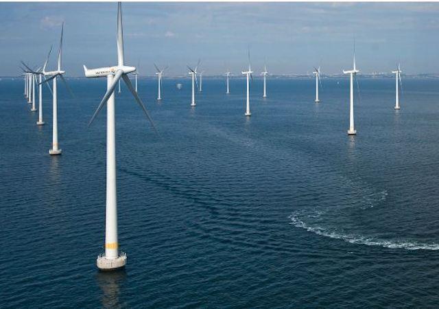 Phối cảnh dự án điện gió ngoài khơi.