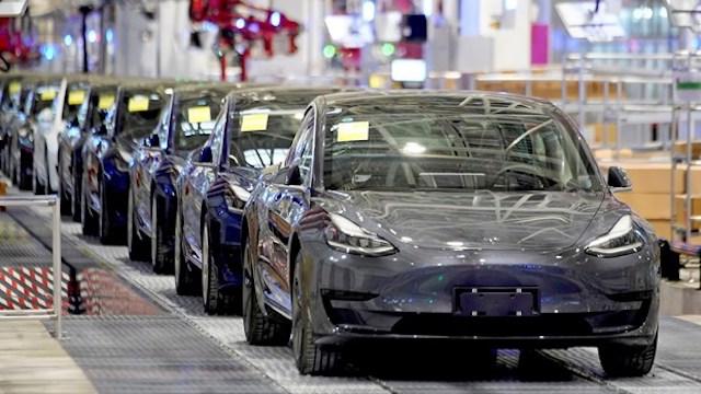 Nhà máy của Tesla ở Thượng Hải. (Ảnh: Reuters).