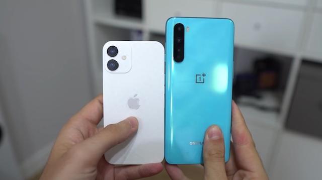 iPhone 12 mini nhỏ đến mức nào?