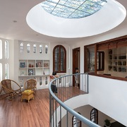 Thiết kế thư viện trong nhà để cả gia đình cùng nhau học tập và làm việc