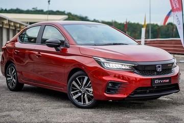 Honda City 2021 sẽ được ra mắt tại Việt Nam trong tháng 12
