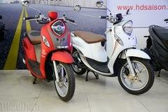 Yamaha Fino nhập khẩu giá từ 36 triệu, cạnh tranh xe lắp ráp trong nước