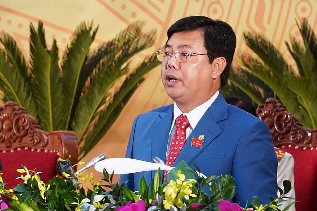 Bí thư Tỉnh ủy Cà Mau Nguyễn Tiến Hải. Ảnh: Vietnamnet.