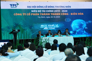 TTC Biên Hòa tổ chức thành công ĐHĐCĐ thường niên niên độ 2019 – 2020