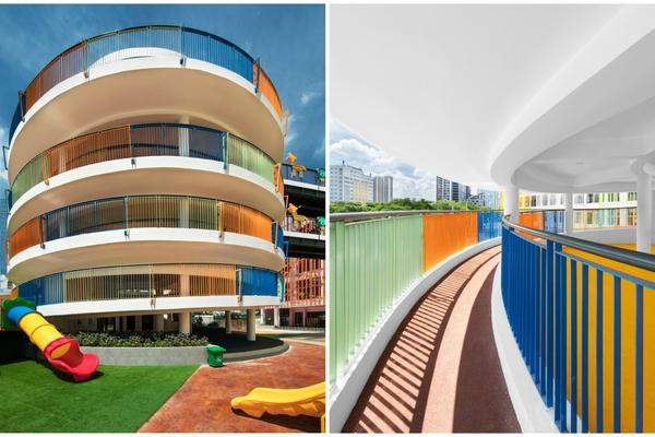 Trường mầm non rực rỡ sắc màu ở Cầu Giấy, Hà Nội