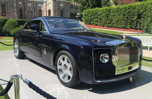 10 mẫu ôtô chỉ dành cho giới siêu giàu
