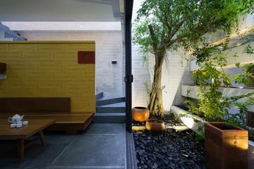 Ngôi nhà hòa quyện kiến trúc Hà Nội và Tây Nam Bộ
