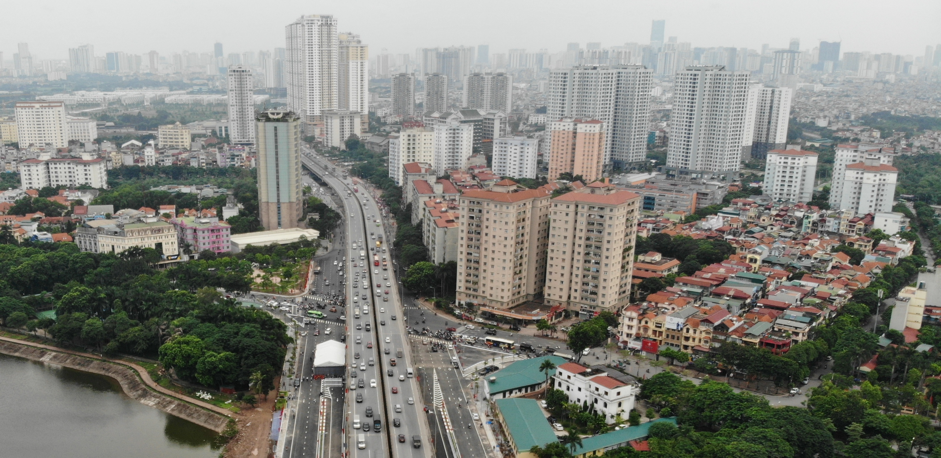 Loạt dự án cao cấp giá 40-95 triệu đồng/m2 sắp bàn giao ở Hà Nội