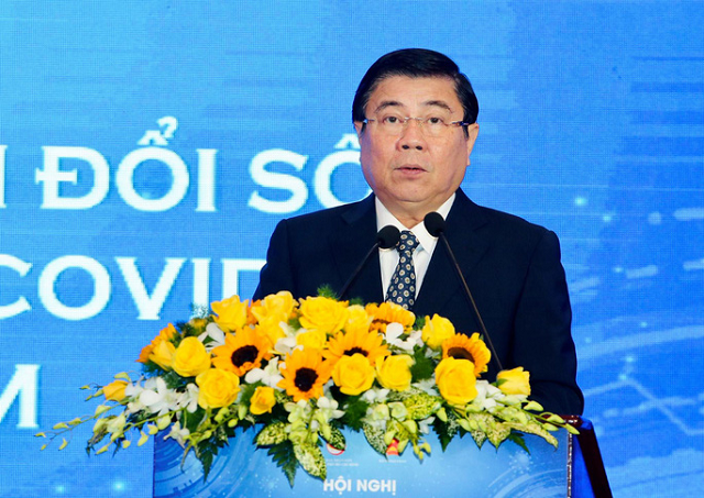 Chủ tịch UBND TP HCM Nguyễn Thành Phong.