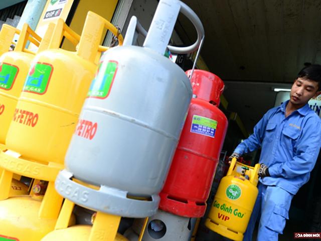 Giá gas liên tục leo thang