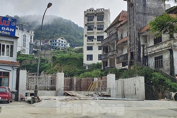 Tận thấy những công trình khoét núi, đổ bê tông kiên cố ở Tam Đảo