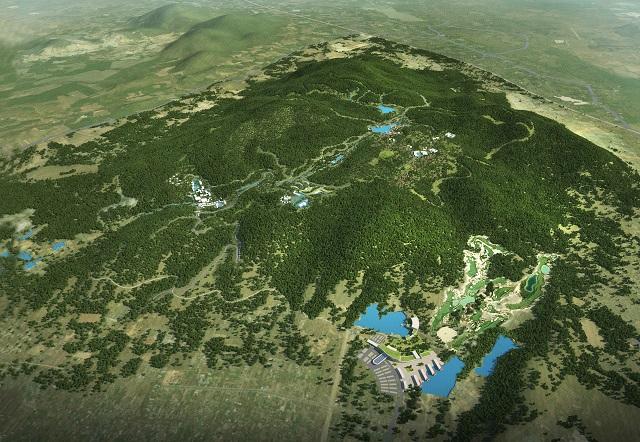 Bà Rịa - Vũng Tàu đề xuất phương án Quy hoạch 1/2.000 khu du lịch Núi Dinh khoảng 2.400 ha