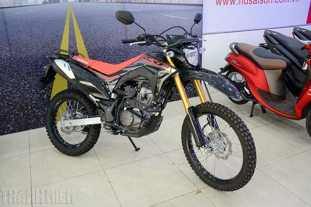 'Cào cào' Honda CRF 150 về Việt Nam giá 80 triệu, 'đấu' Yamaha WR155R