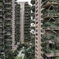 <p> Thay vì là một thiên đường sinh thái hiện đại, các tòa tháp trông giống như bối cảnh của một bộ phim hậu tận thế.</p>