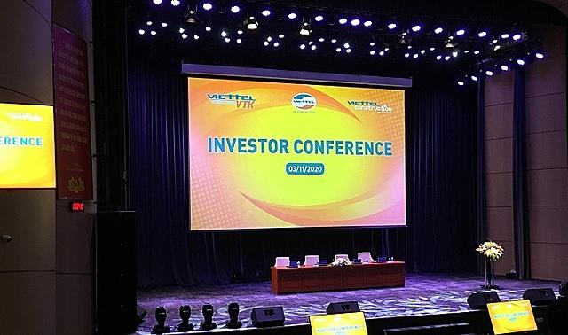 Cuộc gặp gỡ nhà đầu tư diễn ra ngày 3/11.