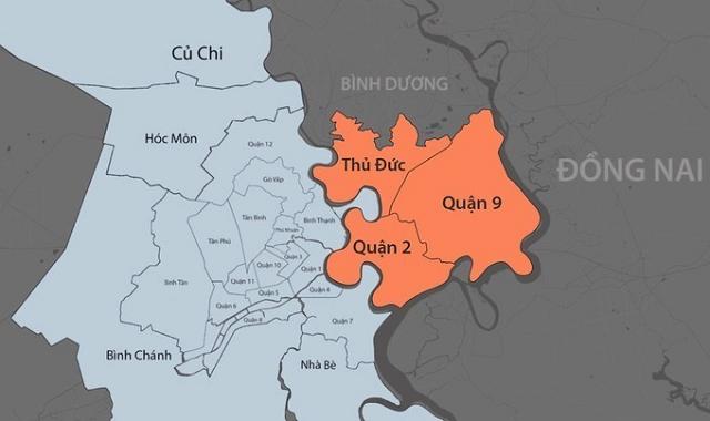 TP Thủ Đức sau thành lập có diện tích hơn 211,5 km2, dân số hơn 1,5 triệu người. Đồ hoạ: Khánh Hoàng.
