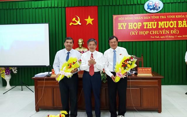 Trà Vinh có tân Chủ tịch HĐND và UBND tỉnh