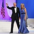 <p> Một khoảnh khắc đáng nhớ khác của Jill là khi bà mặc chiếc đầm xanh trẻ trung nhưng không kém phần thanh lịch tại Trung tâm Hội nghị Walter Washington vào năm 2013. (Ảnh:<em>Getty</em>)</p>