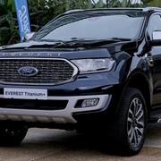 Ford Everest 2021 bản nâng cấp 'quyết đấu' Toyota Fortuner