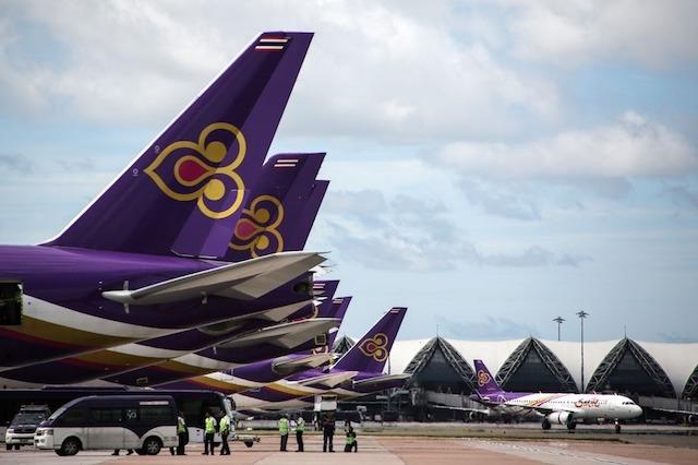 Thai Airways muốn bán 34 máy bay