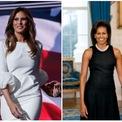 <p> Tương tự tổng thống Mỹ và các thành viên trong gia đình, đệ nhất phu nhân cũng được hưởng chế độ bảo vệ nghiêm ngặt nhất. Vì vậy, họ sẽ sở hữu một mật danh để tăng cường an ninh và bảo vệ hành tung cá nhân. Bà Michelle Obama, phu nhân cựu Tổng thống Obama, có tên là Renaissance và bà Melania Trump, đệ nhất phu nhân đương nhiệm, được gọi là Muse. Ảnh:<em> Getty.</em></p>