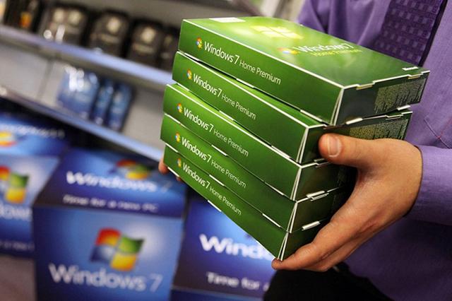 Windows 7 là hệ điều hành phổ biến thứ hai trên thế giới