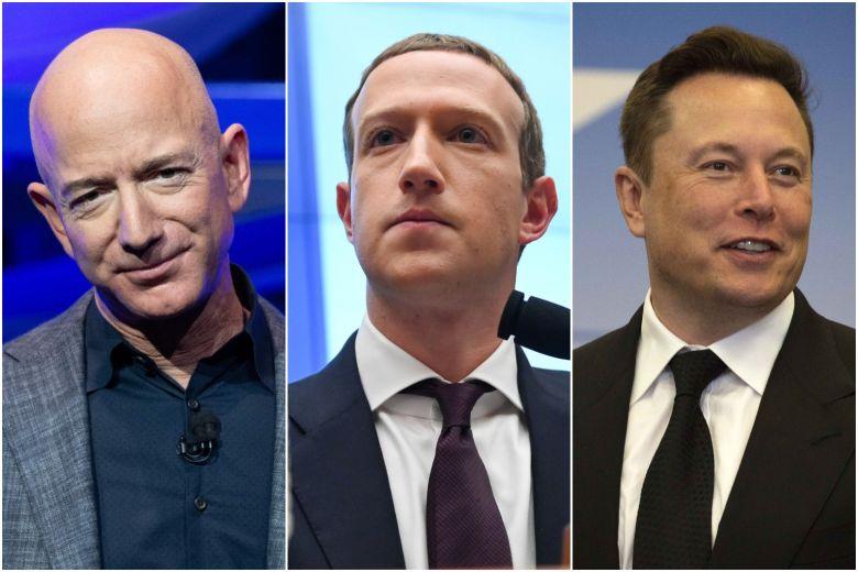 Đường lập nghiệp của 5 tỷ phú sở hữu tài sản trên 100 tỷ USD
