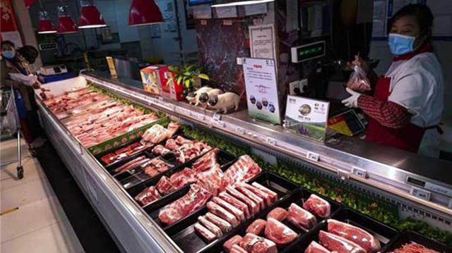 Giá thịt lợn tại Trung Quốc lần đầu giảm sau 19 tháng tăng liên tiếp