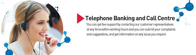 Dịch vụ Telephone banking khá phổ biến tại nhiều nhà băng trên thế giới.