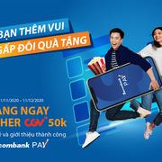 Sacombank triển khai chương trình khuyến mại với Sacombank Pay