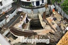 Quận Ba Đình: Cấp phép nhà riêng lẻ 4 tầng hầm do nhu cầu của chủ nhà