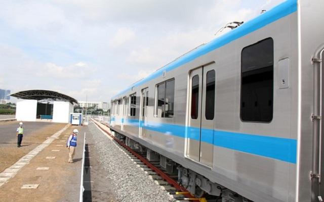 Đã khắc phục sự cố dầm cầu cạn trên tuyến metro số 1