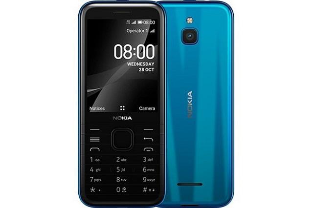 HMD Global ra mắt điện thoại phổ thông Nokia 8000 4G