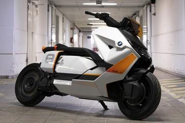 BMW ra mắt xe máy điện mang thiết kế tương lai