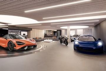 Garage siêu xe của McLaren trong căn penthouse 16 triệu USD